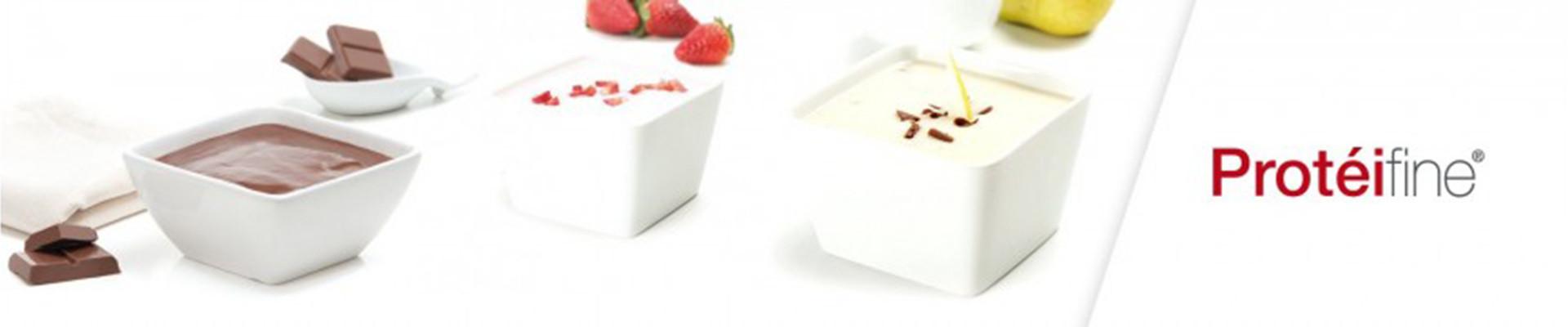 Postres, Cremas y Yogures Protéifine