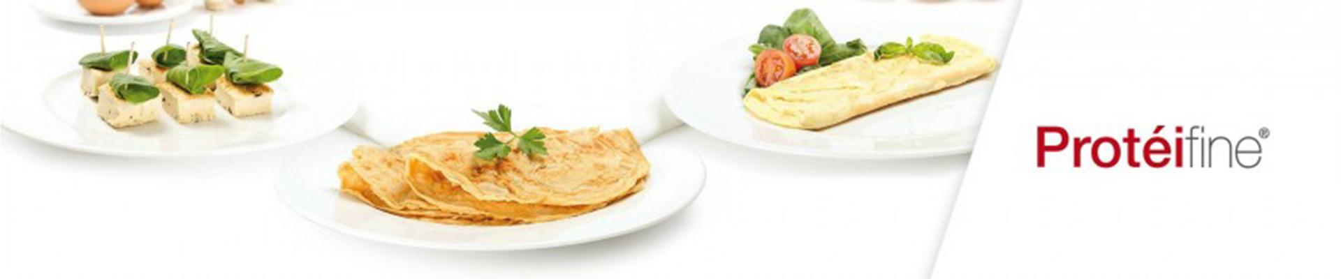 Tortillas y Creps Protéifine